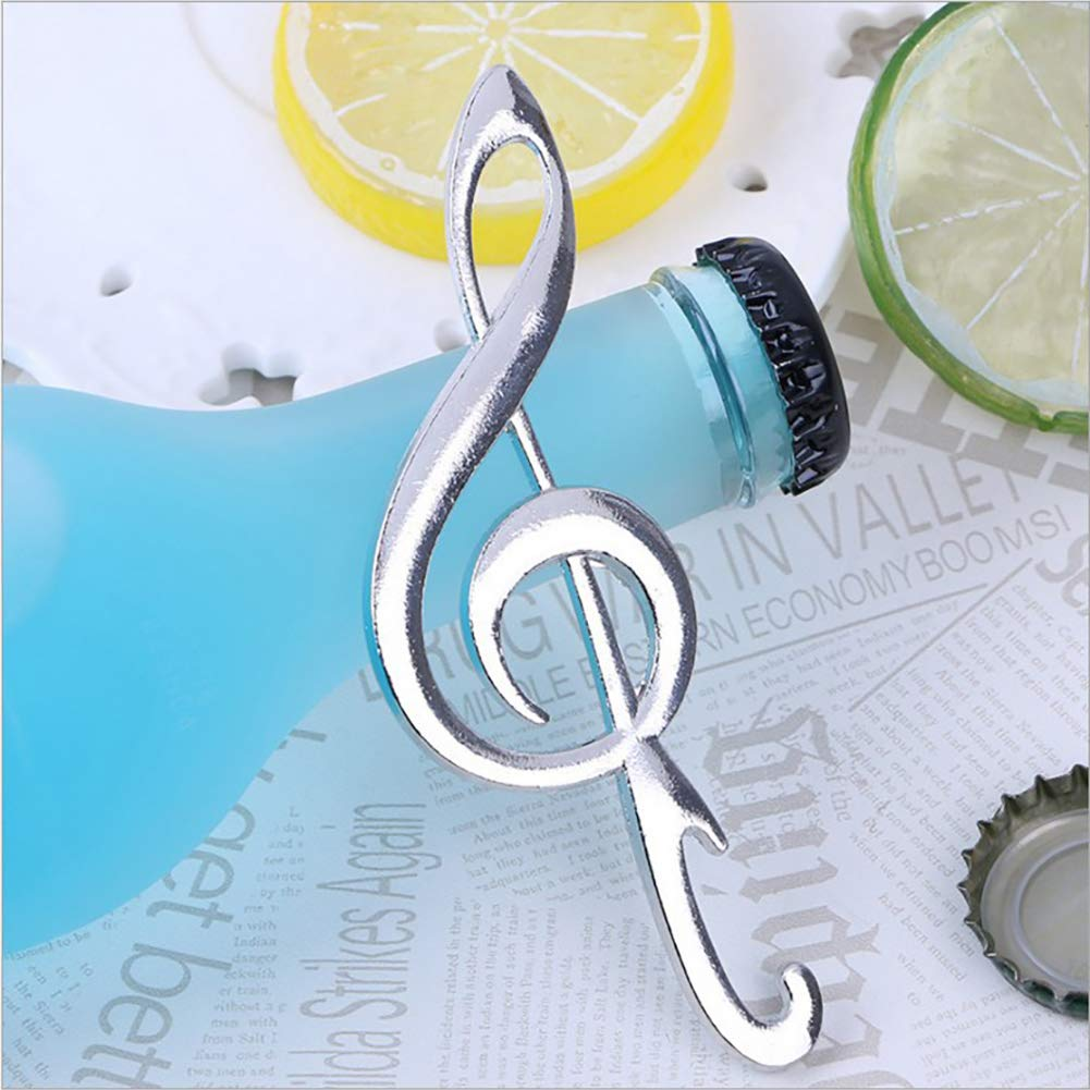 Dds5391 New Creative Music Note Shape Wine Beer Bottle Opener Kitchen Pub Bar Party Tool
