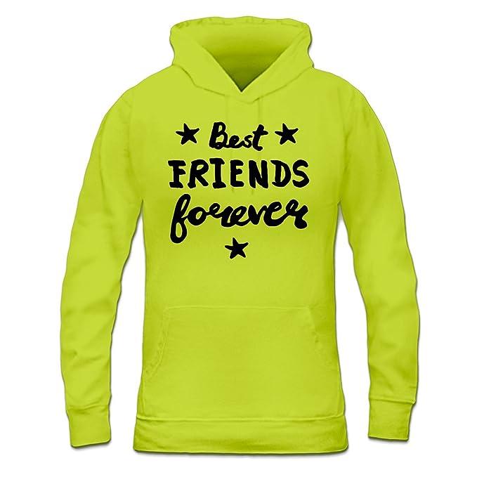 Sudadera con capucha de mujer Best Friends Forever by Shirtcity: Amazon.es: Ropa y accesorios