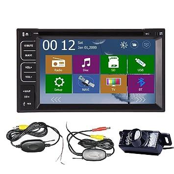 NUEVO 6.2 est¨¦reo del coche DVD GPS del coche 2DIN USB