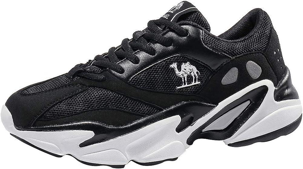 CAMEL CROWN Zapatillas de Running Hombre Mujer Correr al Asfalto Deporte Sneakers Gimnasia Entrenamiento 35-44 EU: Amazon.es: Zapatos y complementos