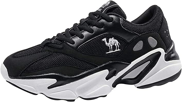 CAMEL CROWN Zapatillas de Running Hombre Mujer Correr al ...