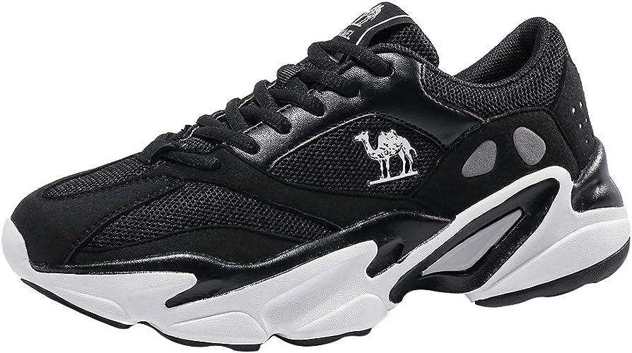 CAMEL CROWN Chaussures Homme Basket Femmes Running Sneakers