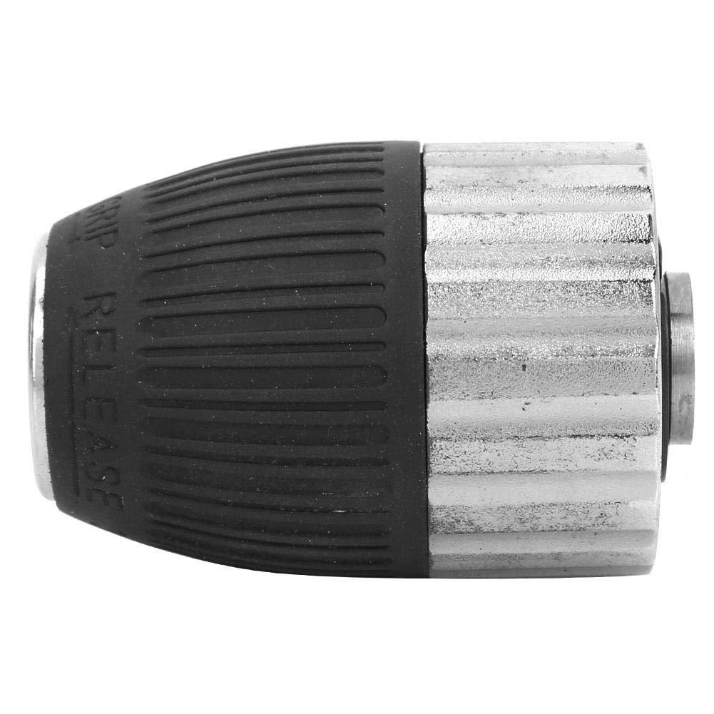Mandrin de perceuse /à percussion sans cl/é semi-m/étallique 3-13mm 3//8-24UNF pour perceuse /électrique /à main