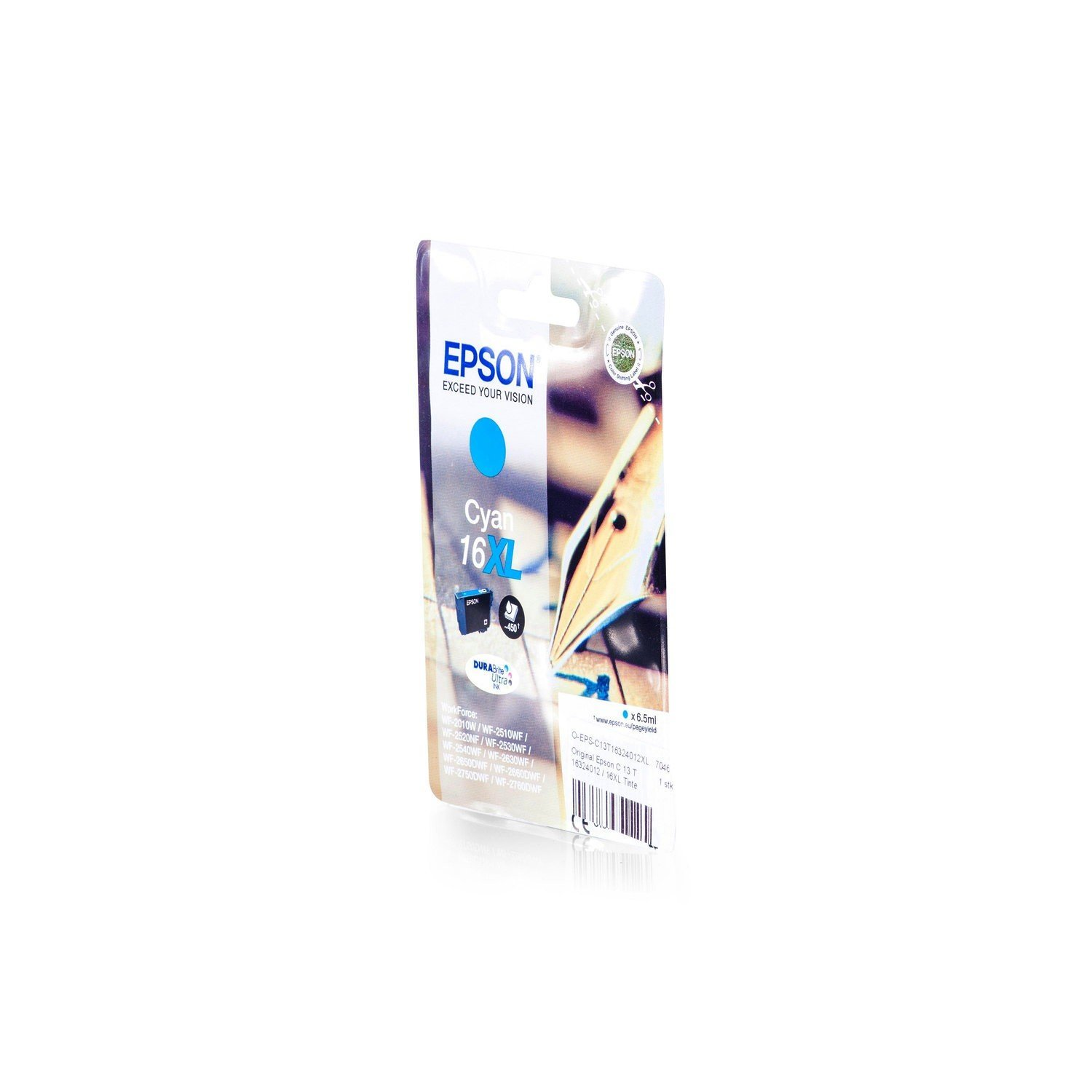 De Tinta original para EPSON WorkForce WF 2540 WF Epson 16 X L ...