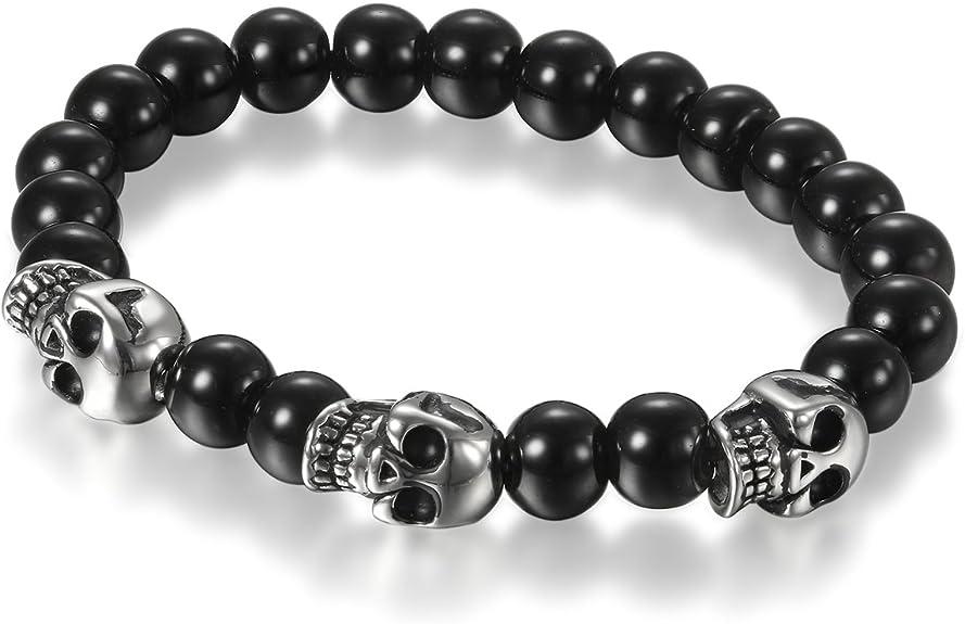 Acheter bracelet tete de mort online 2