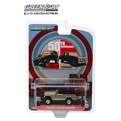 GL Greenlight 1:64 Anniversary Series 10 1966 Jeep Jeepster Commando 50 Year: Toys & Games
