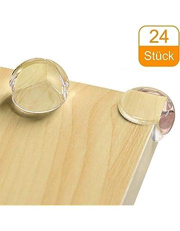 Sicherheit 8x Tischkantenschutz Kinder Eckenschutz Kantenschutz Kantensicherung Glastisch