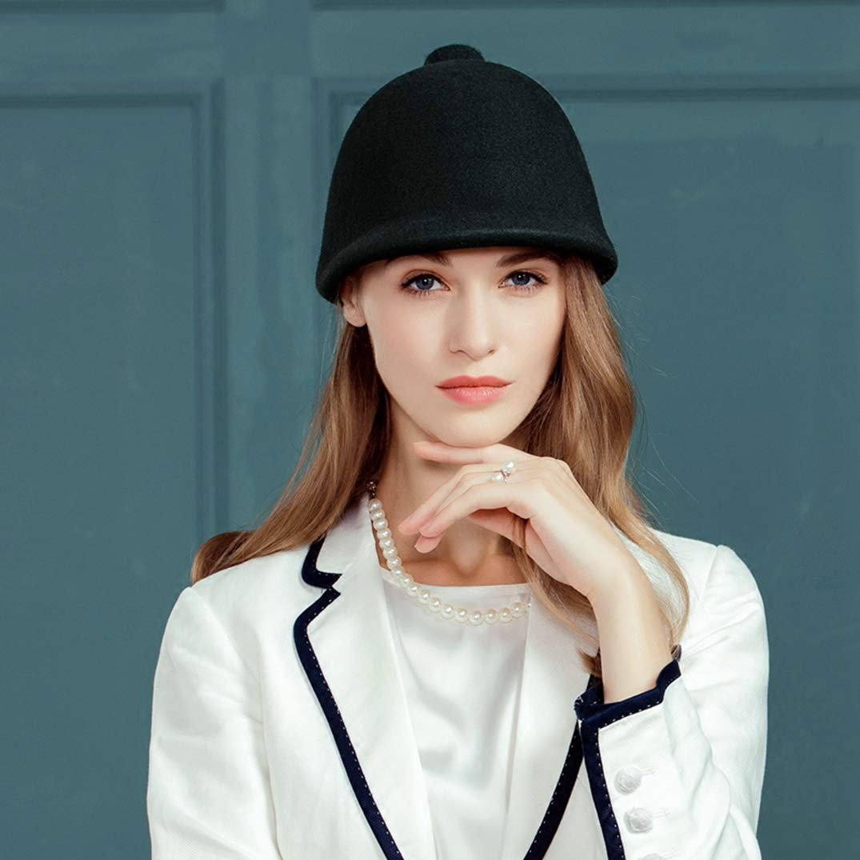 Womens Fashion Simple Woolen Hat Baseball Cap Korean Version of The Tide Wild Hat