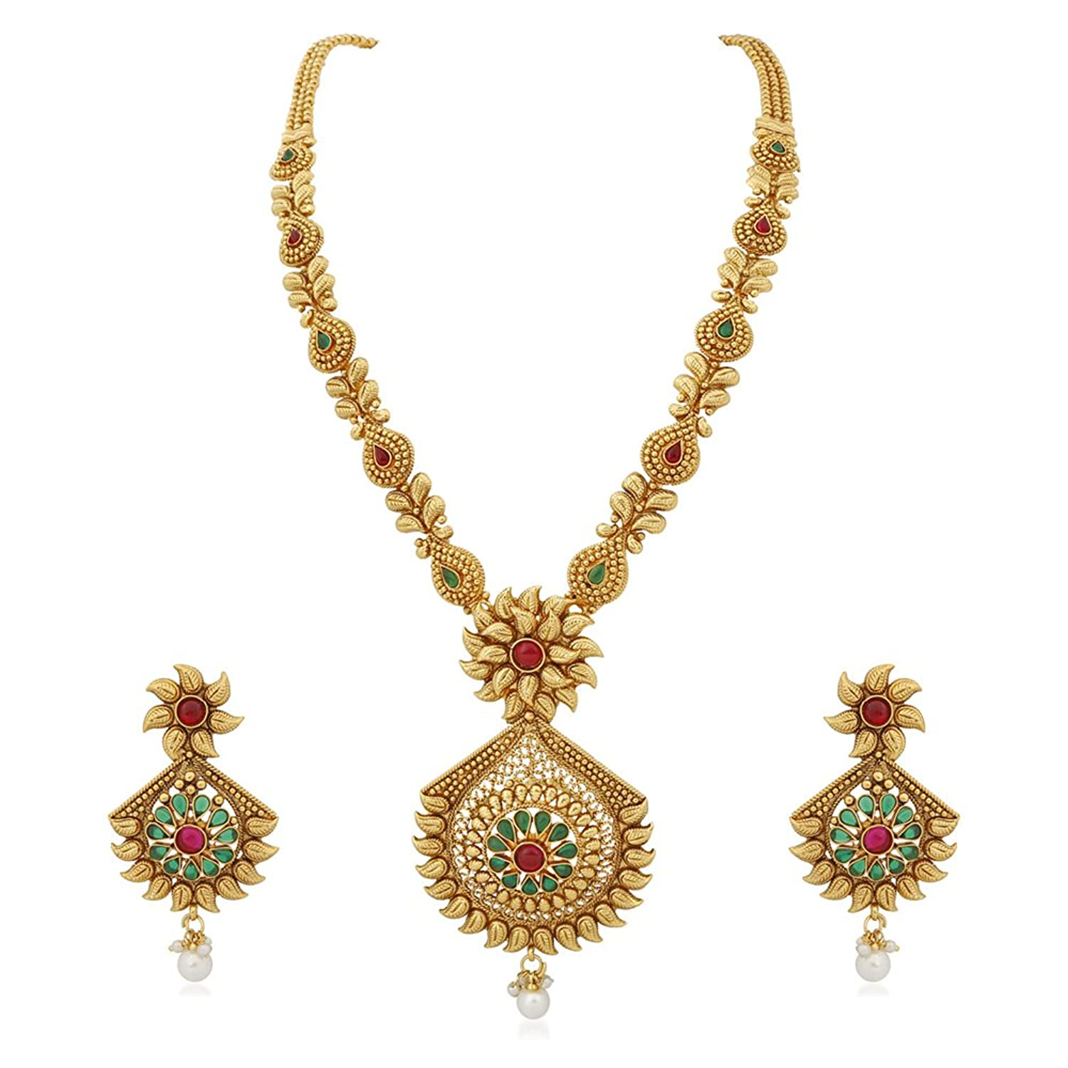 Necklace Set: Buy Necklace Set online at best prices in India ...