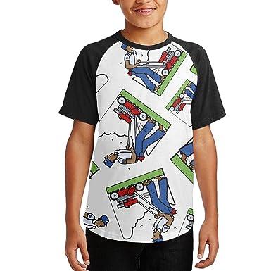 44b492bb312 NVJ SHIRT Mowing Lawn Gift Teen Boy 3D Print Tops Raglan Short Sleeve T  Shirts