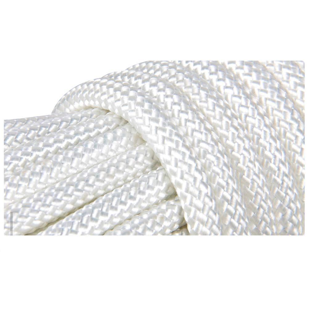 Seil Seil Seil Klettern Survival Rope Bergsteigerseil Drahtseilseilseilebenen-Rettungsleine Rettungsseilhochhauskatastrophenverhütungsnotseil Im Freien Haiming (Farbe   Weiß, größe   10m) B07Q5DL2NT Einfachseile Erste Qualität f41900