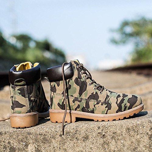 Desgaste Antideslizantes Hombres Camuflaje Botas Para Zapatos De Herramientas Exteriores Gran Martin Al Running Deportivos Invierno Hombre Resistentes Tamaño 01w0q8HxP