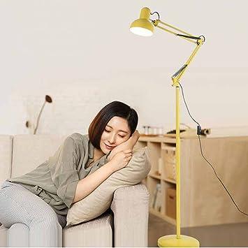 Lámpara de pie LED de regulación, sin telescopio - Brillo ...