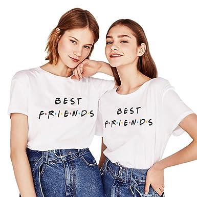 Amazon Friends Shirts TV Show T Shirt Logo Best Friend Tee Women Friendship Gift 2 Pack Clothing