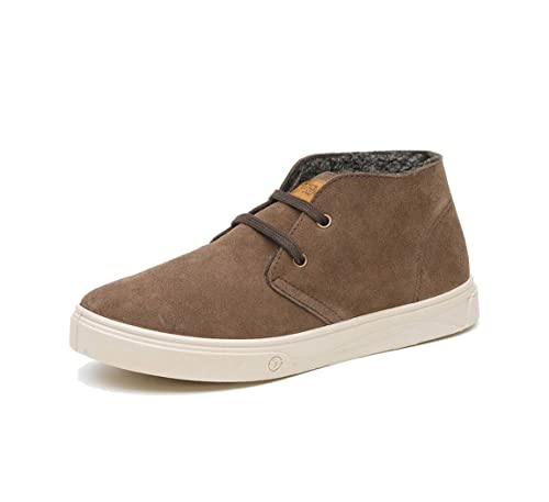 Natural World SAFARI Suede último - Zapatillas para hombre 42, Marrón (820-830-marron), 44: Amazon.es: Zapatos y complementos