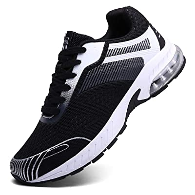 XIDISO Running Shoes Mens Women Air Trail Mesh Sneakers Athletic Walking Cross Training Tennis Sports Shoe for Men | Road Running