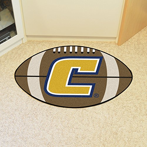 Tennessee Chattanooga Football Rug - FANMATS NCAA Univ Tennessee Chattanooga Mocs Nylon Face Football Rug