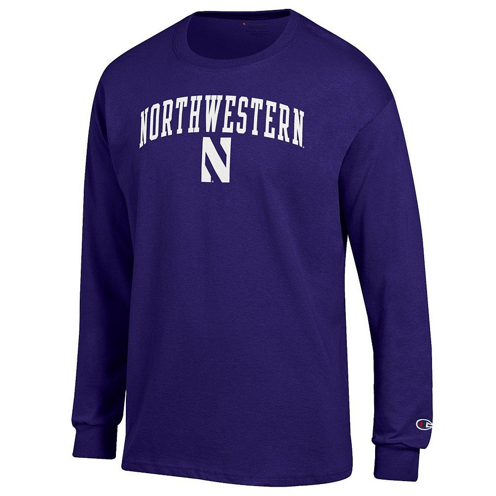 Notre Dame Fighting Irish長袖シャツネイビー1842 B0731SYP6Q 3L|Northwestern Wildcats Purple Northwestern Wildcats Purple 3L