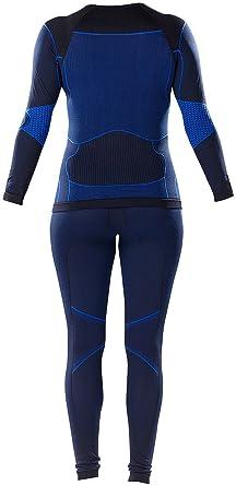 f7a40250739d34 PEARL Sports Funktionswäsche: Damen-Thermo-Funktionsunterwäsche mit  Kompression, Gr. M (Ski Funktionsunterwäsche)