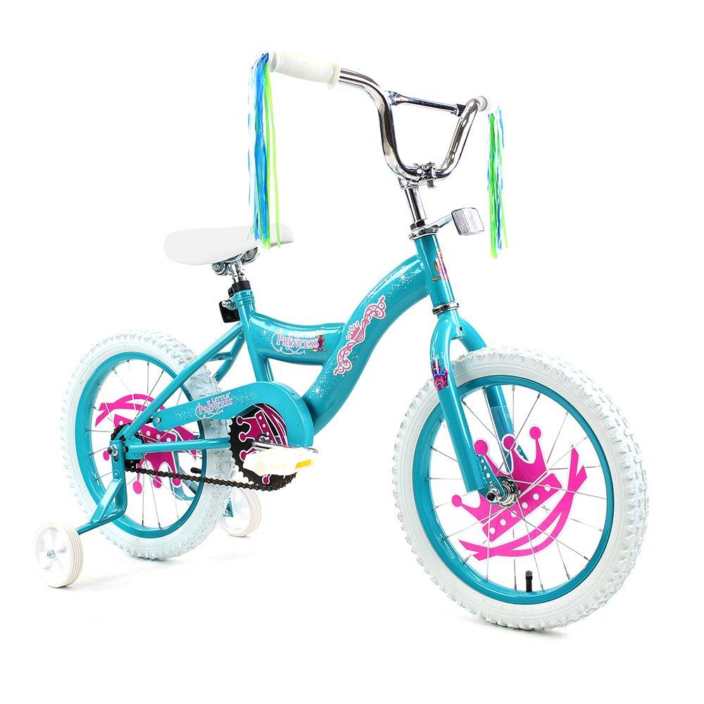 ISD 子供用16インチ自転車 トレーニングホイール付き  Celestial Turquoise B07487P7H2