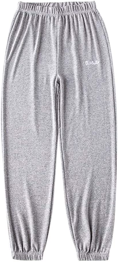 Womens Loose Sport Yoga Pants,Jchen Ladies Girls High Waisted Solid Color Jogger Pants Outdoor Sweatpants Athletic Running Casual Sport Yoga Pants Comfy Pajamas Sweatpants