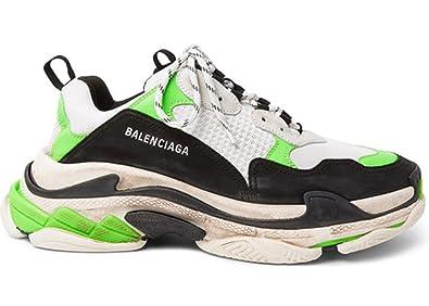 Neon Green Mr Sneakers Triple Balenciaga S Porter 7qSnfW