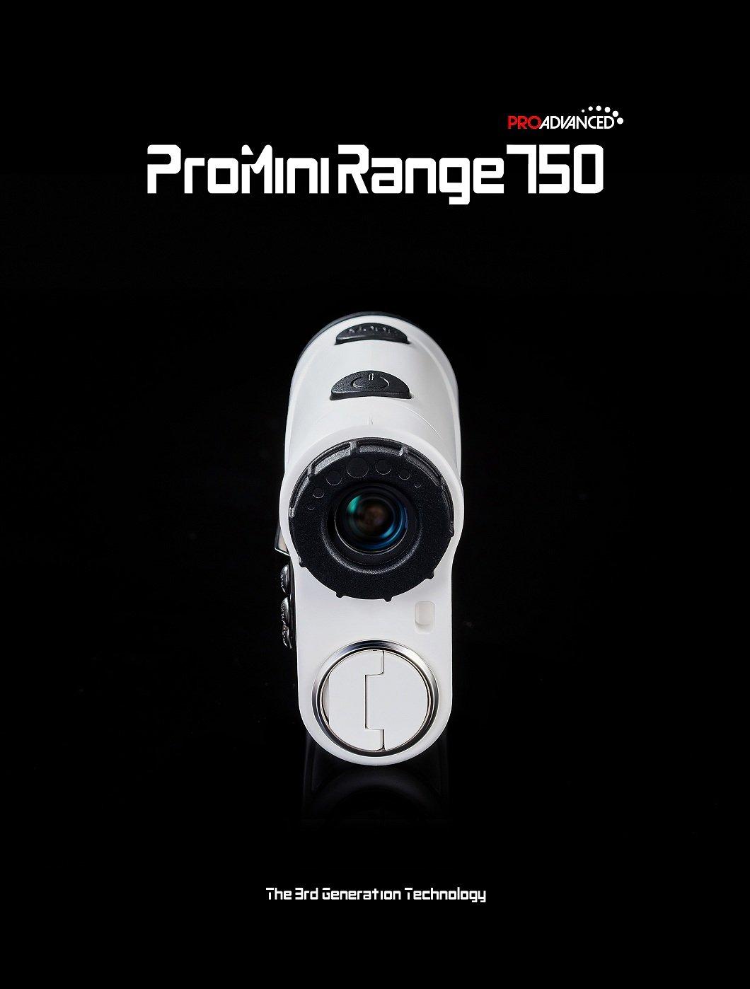 ProMini Range 750 - Laser Rangefinder - Golf Range Finder - 2 Year Warranty - Father's Day by ProAdvanced (Image #2)