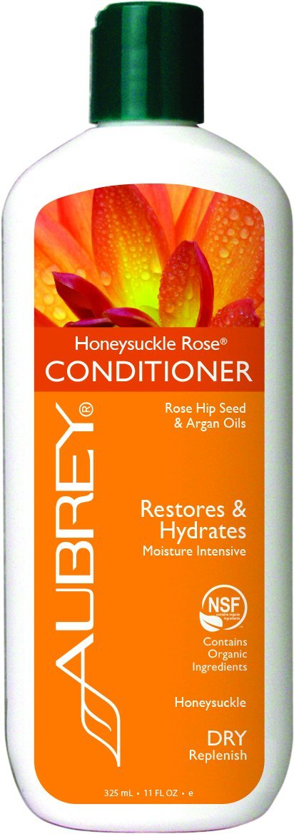 Aubrey Organics Honeysuckle Rose Moisturizing Conditioner 11oz