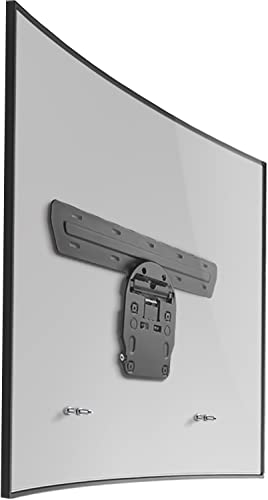 WALI Samsung Micro Gap TV Wall Mount Bracket Exclusively 2017 Version for 49 to 65 inch Samsung Q7 Q8 Q9 Flat and Curved TV, 110 lbs Weight Capacity TMSA001 , Black