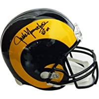 $199 » Jack Youngblood Signed LA Rams Throwback Riddell Full-Size Helmet w/HF'01 - Schwartz Authentic