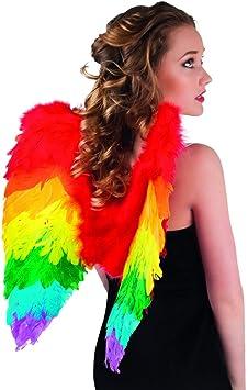 Amakando Alitas Arcoíris Papagayo - 50 x 50 cm | Alas Coloridos ...