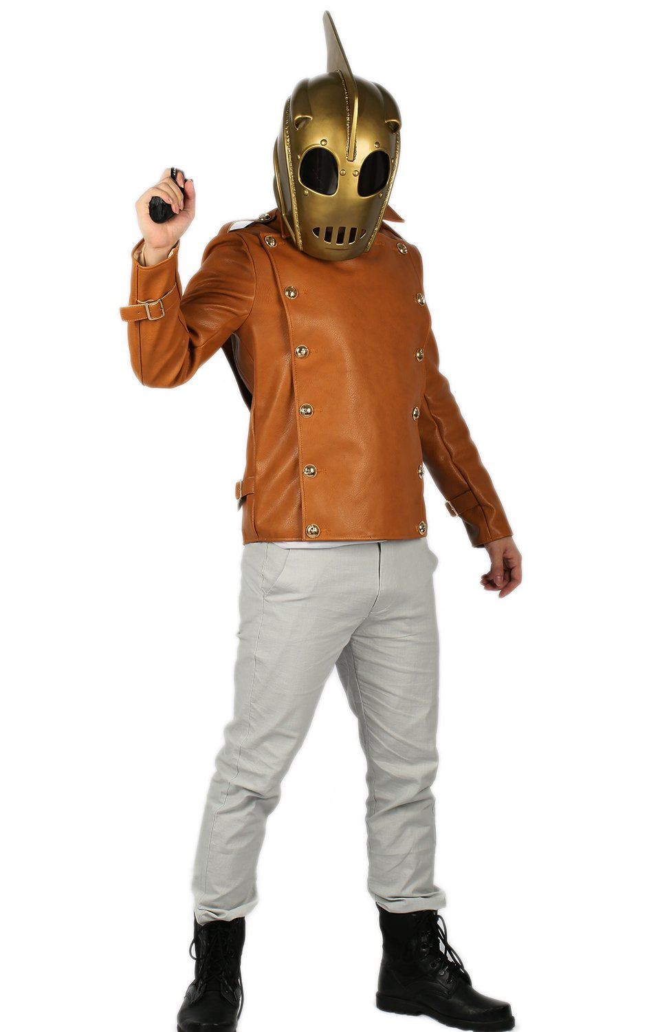 Cliff Secord Jacket Costume Outfit Suit for Adult S by xcoser