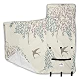 CLQQP Toddler Nap Mat Willow Tree Leaf Bird 50 x 20 Inch with Removable Pillow Sleeping Bag