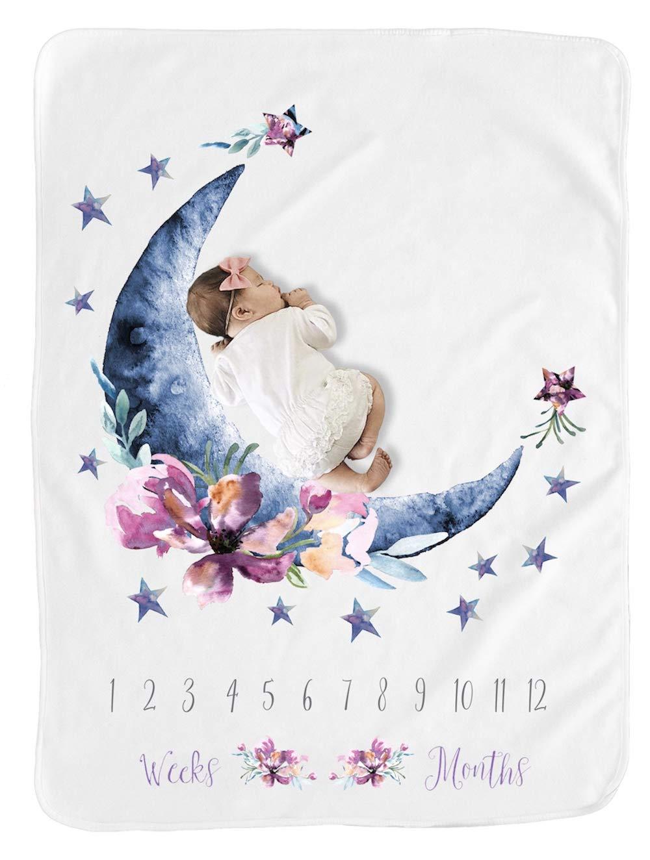 Amazon.com: Baby Moon - Manta mensual de hito para niño/niño ...