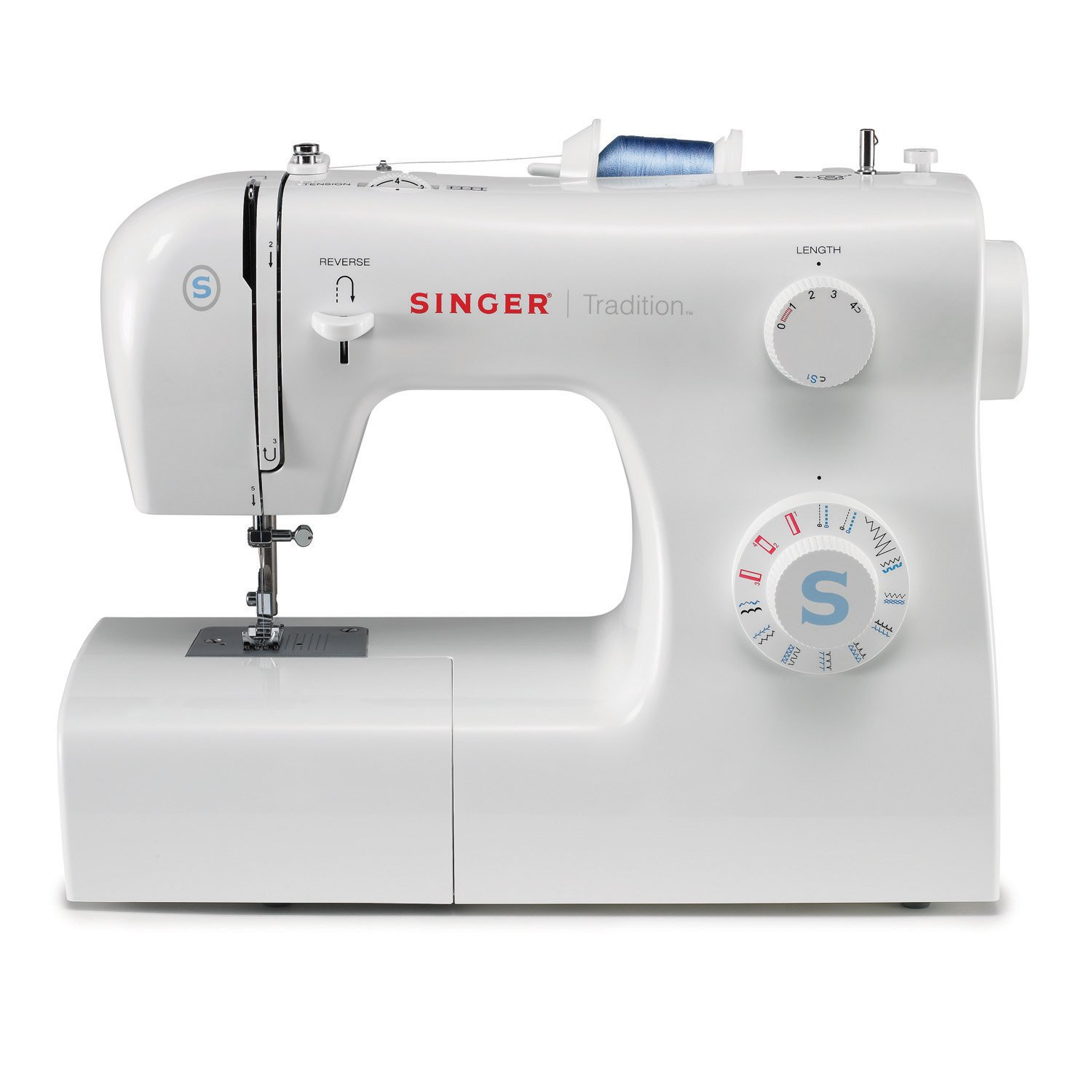 Amazon.com: SINGER | Tradition 2259 Portable Sewing Machine including 19  Built-In Stitches, 4 Snap-On Presser Feet, Built-in Bobbin Winding and Easy  Stitch ...