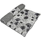 Handmade Pilates & Yoga Mat for Women & Girls - Beautiful Handmade Cotton Yoga Mats - Absorbent & Ideal for Hot Yoga