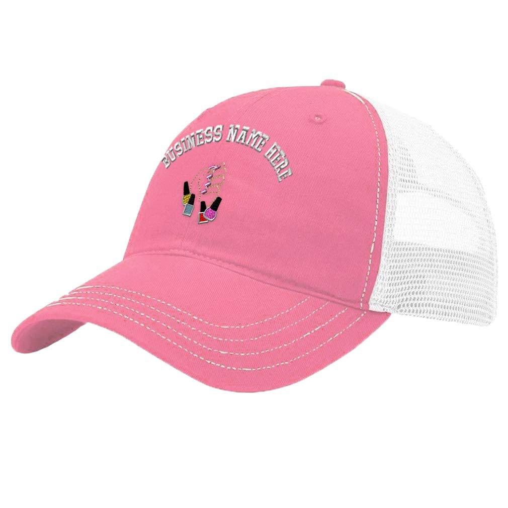 Custom Trucker Hat Richardson Cotton Soft Mesh Cap Snaps