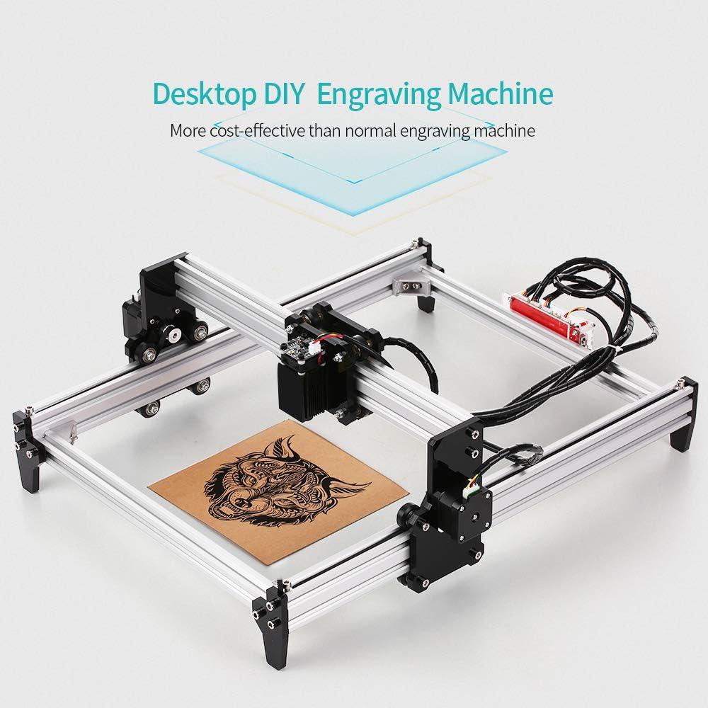 REOAM 5500mw Desktop DIY gravurmaschine CNC Engraver Carver drucker mit Schutzbrille zum Schnitzen und Gravieren