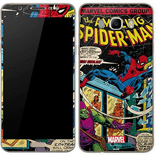 Marvel Comics Galaxy J7 Skin - Marvel Comics Spiderman Vinyl Decal Skin For Your Galaxy J7