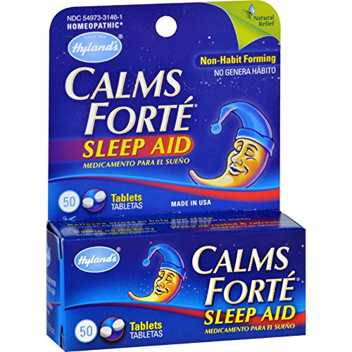 Hylands Homeopathic Calms Forte Tablets
