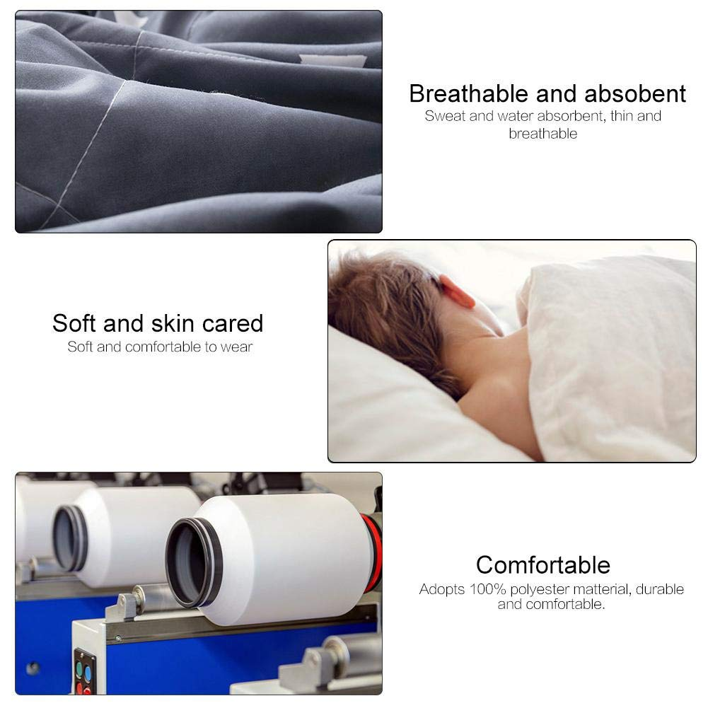 150 * 200cm Summer Comforter Washable Breathable Thin and Light Geometry Queen Summer Air Conditioning Comfoter Quilt Blanket Fit for Home or Office