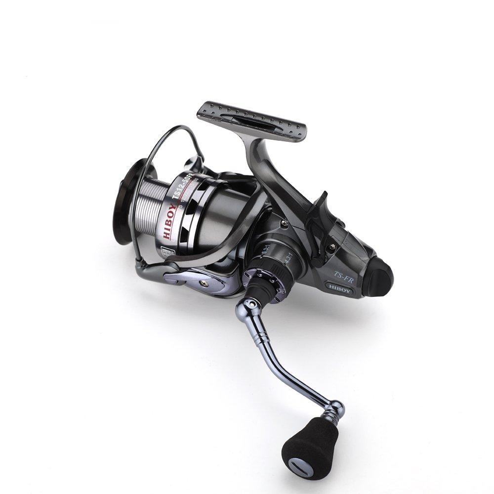 FyshFlyer ts12 5000 / 6000シリーズtwo-speed Spinning reel-highと低Gear ratio-2-in 1 – フロント、リアドラッグsystem-10 + 1bb ; 8 – 10 kgドラッグSaltwater Fishing reel-2シリーズAvailable TS12-60FR  B01M3UPV5L