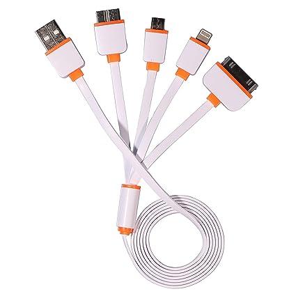 Amazon.com: timorn Cable USB, 4 en 1 multifunción de ...