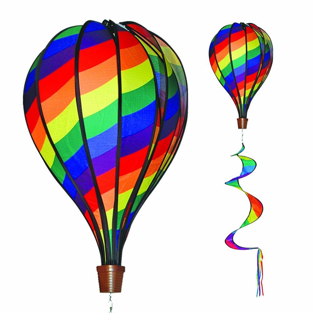 air balloon rainbow amazon co uk toys u0026 games