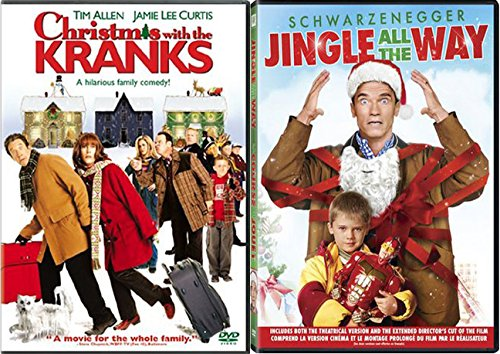 christmas with the kranks jingle all the way family double feature holiday movie set - Christmas With The Kranks Full Movie