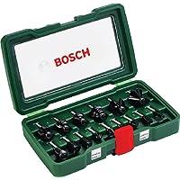 Bosch - Pack de 15 fresas con inserción