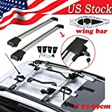 Kayak Jeep Patriot Top Sedan Auto Car Luggage Cargo Cross Bar Roof Rack Carrier Snowboard Kayak Ski
