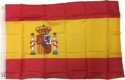 amazon com new 3x5 national spanish flag of spain country flags