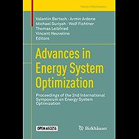 Advances in Energy System Optimization: Proceedings of the 2nd International Symposium on Energy System Optimization…
