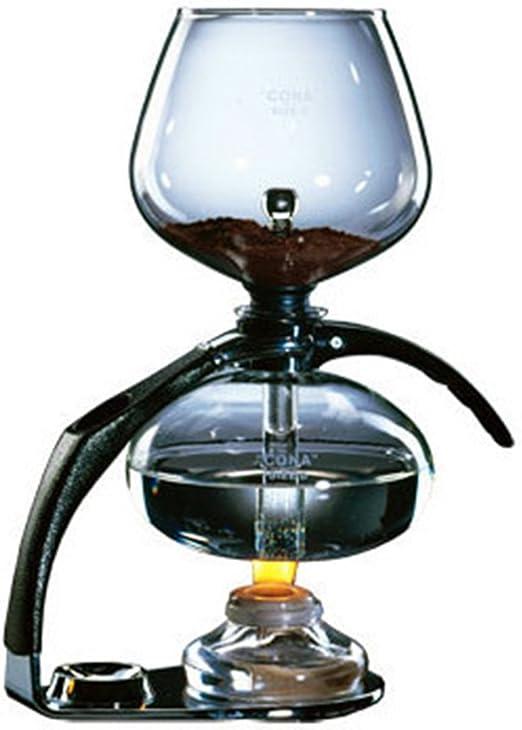 Cona café eléctrica – tamaño C cromo: Amazon.es: Hogar